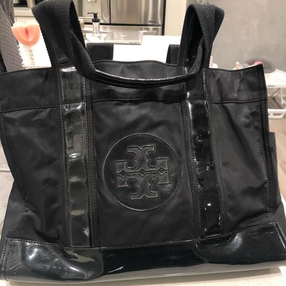 Tory Burch Handbags - TORY BURCH Ella Canvas Tote